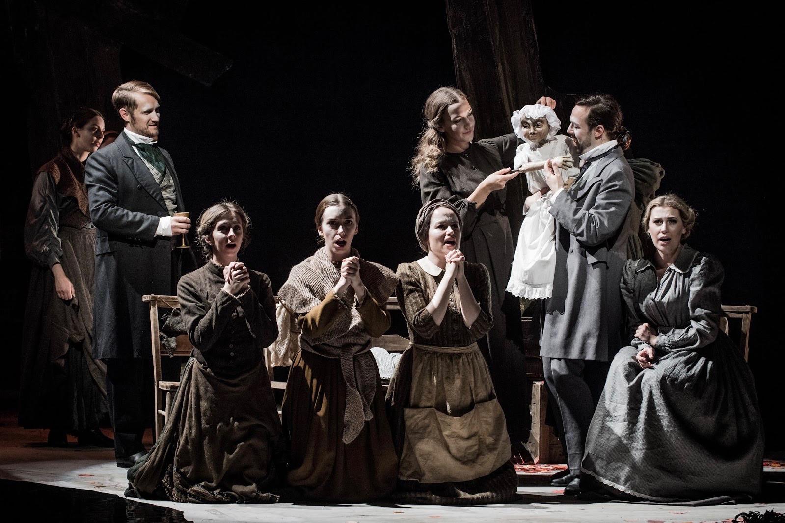 vanishing-bridegroom-group with puppet